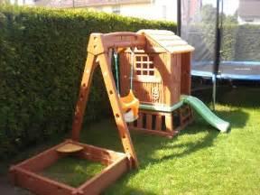 Spielhaus Garten Kunststoff Smoby Spielhaus Mit Rutsche Ebay