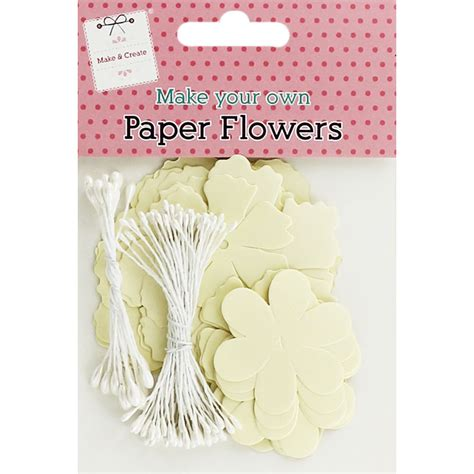 Make Your Own Paper Flowers - make your own paper flower pearl wedding cards
