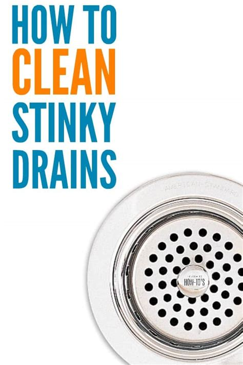How To Clean Smelly Sink Pipes by How To Clean Stinky Drains 3 Non Toxic Steps To Kill Odors