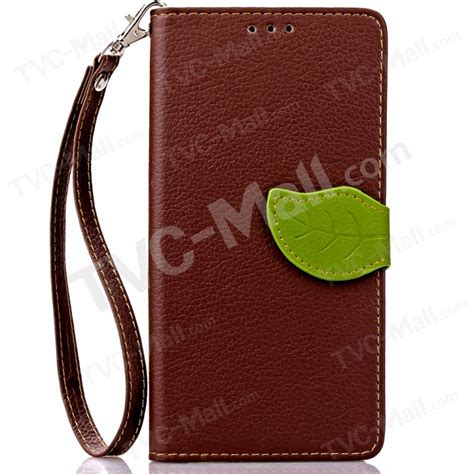 Meizu M3 Note Leaf Leather With Soft Inside Flip Cover leaf flip wallet leather stand shell for meizu m3 note