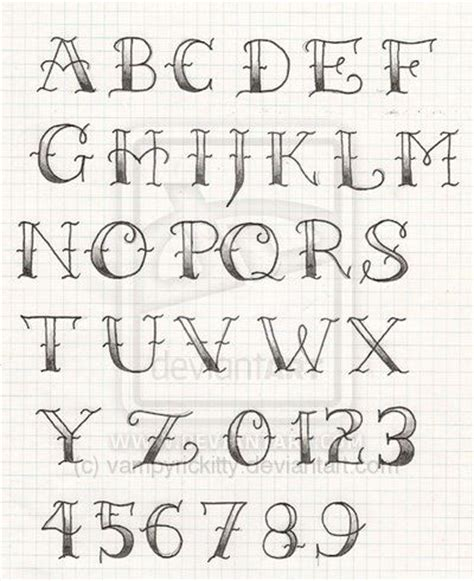 traditional tattoo lettering alphabet old school tattoo lettering lettering practice by