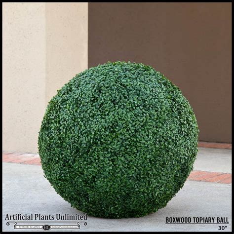 topiary balls in planters 30in artificial boxwood topiary in tuscana planter