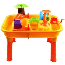 toddlers childrens sand water table with