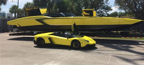 does sea doo make boats anymore this man built a 1 3 million lamborghini speedboat with