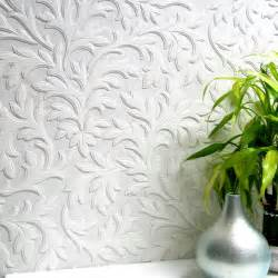 Cheap Vanity Numbers Anaglypta High Leaf Paintable Textured Vinyl Wallpaper