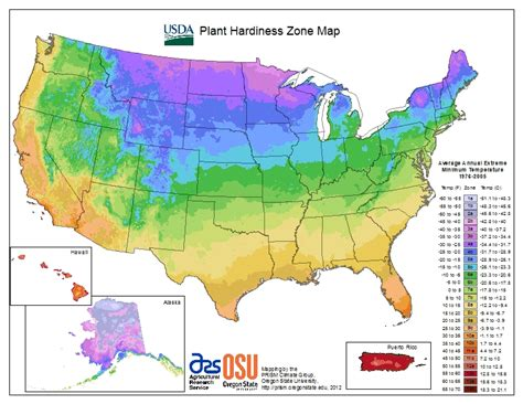 growing zone map 2017 18 hardiness zone map