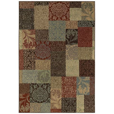 Shaw Living Area Rug by Shop Shaw Living 7 Ft 9 In X 10 Ft 10 In Rectangular
