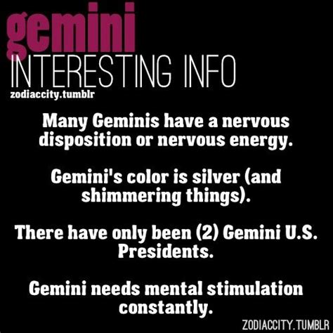 interesting information about gemini me pinterest