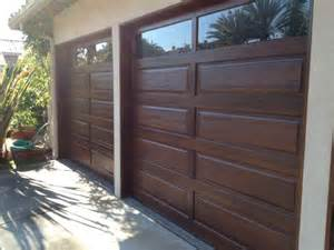 How To Paint Over Faux Wood - garage doors facelift wood grain faux finish san diego by marcelino custom finishes