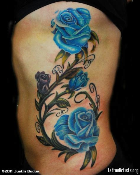 rose tattoo on ribs 1000 ideas about vine tattoos on tattoos