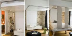 le lit qui descend du plafond paperblog