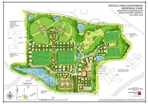 Of New Master Mba Course Plan wood partners devaul henderson park master plan