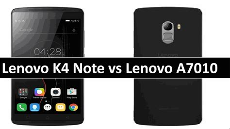 lenovo k4 note new themes lenovo vibe k4 note vs lenovo a7010 gse mobiles