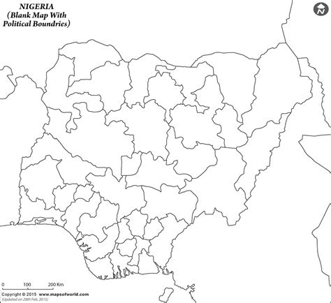 nigeria map coloring page blank map of nigeria nigeria outline map