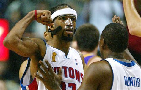 Mba Finals 2004 by Billups Chauncey Detroit Pistons