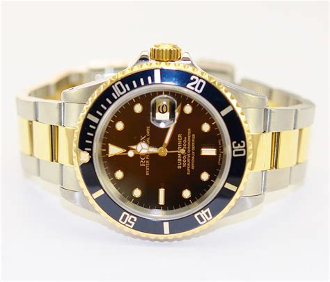 Rolex 030 Silver Ring Black rolex submariner 18k gold and stainless steel black