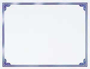 certificate border classic blue foil 50 per box ct1231