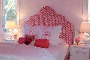 Julie Rootes Interiors by Pink Headboard S Room Julie Rootes