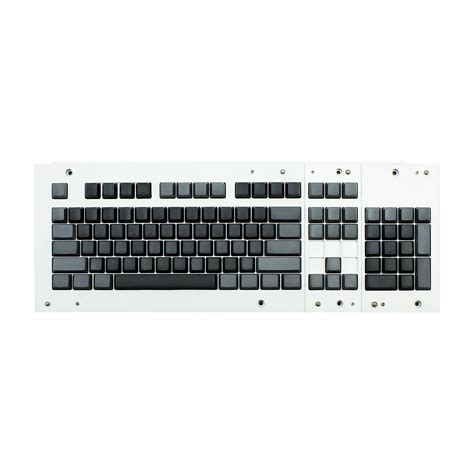 Dijamin Goodgame Keycaps 104 Grey max ansi bi color black gray pbt 104 key cherry mx keycap
