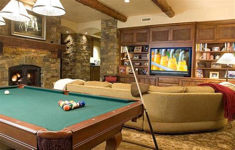 game room  telluride luxury ski vacation rental