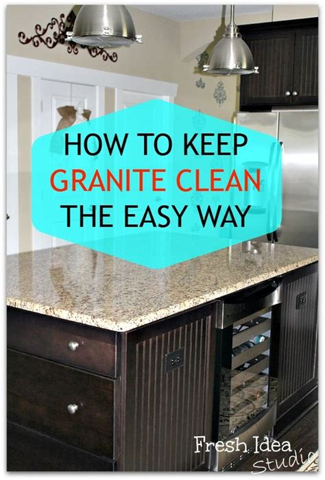 how to keep your kitchen clean how to keep your granite clean the easy way armors