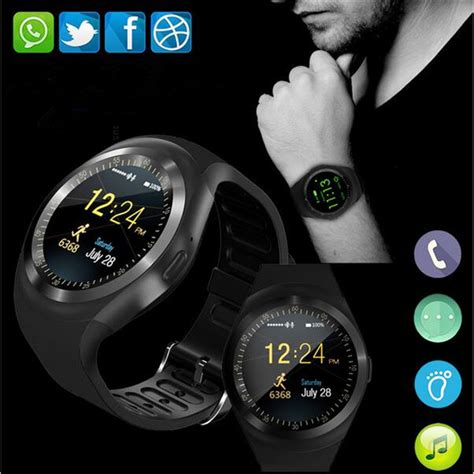 Y1 Smartwatch Support Nano Sim And Tf Card smartch y1 smart watchs support nano sim tf card