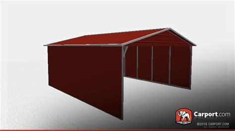 Metal Roof Car Shelter by 18 X 21 X 6 Vertical Roof Open Car Shelter Car