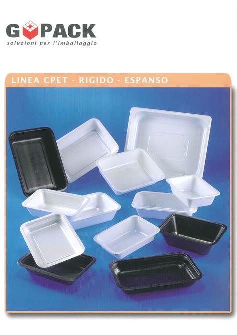 vaschette in plastica per alimenti vaschette alimenti cpet take away go pack di giuseppe odelli