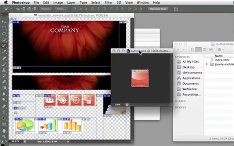dreamweaver tutorial mobile website create advanced design templates in dreamweaver for jquery