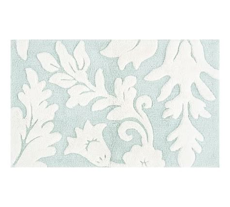 Pottery Barn Bathroom Rugs Damask Bath Rug Pottery Barn