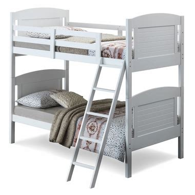Broyhill Kids Nantucket Twin Bunk Bed In White Free Shipping Broyhill Bunk Beds