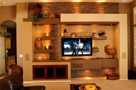 2017 Decorating Trends Gypsum Board Tv Wall Unit That Will Charm You
