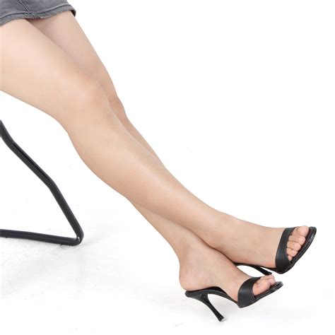 High Heels Us hs 8001 mule sandals high heels in s shoes us 5 8 5 ebay