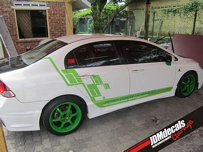 Sticker Jdm By Jdm Garage Shop jdmdecals garage jdm flag stripe decal project