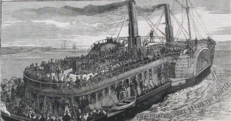 thames river cruise disaster thames discovery programme the princess alice disaster