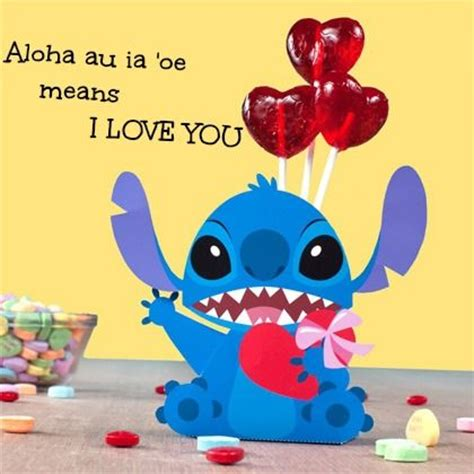 disney valentines day quotes stitch i you