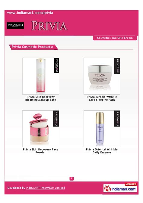 Privia Miracle Wrinkle Care Sleeping Pack Privia Korea Seoul Cosmetics Skin