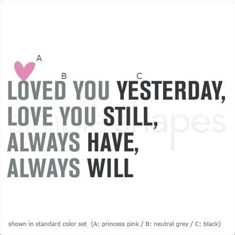 Always Loving by I Always You Quotes Quotesgram