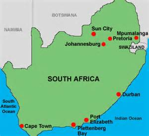 Johannesburg South Africa Map by Filmpiracy Johannesburg