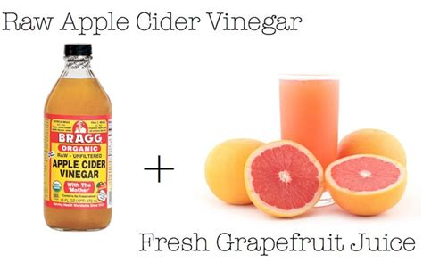 Apple Cider Vinegar And Apple Juice Detox by Detox Cleanse Apple Cider Grapefruit Juice Lush