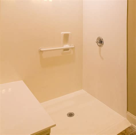 Shower Is Low by Accommodate Handicapped Loved Ones With A Low Entry Shower