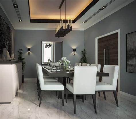 modern interior design dining room  behance