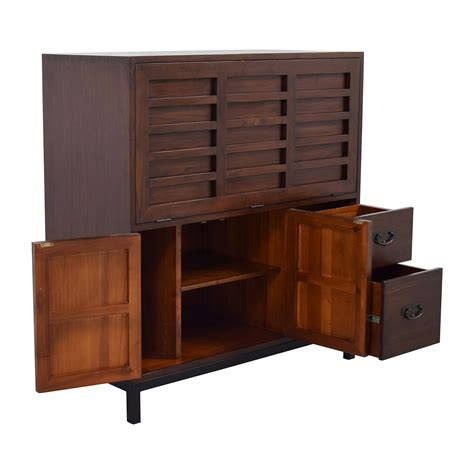 room and board office armoire 72 off room board room board office armoire storage