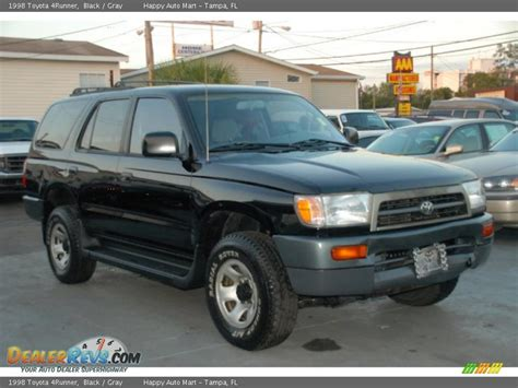 Gray Toyota Service 1998 Toyota 4runner Black Gray Photo 3 Dealerrevs