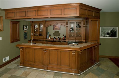 custom home bar plans home bars irish pub home bar custom cabinetry by ken