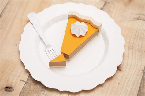 Paper Craft Items - these tasty looking menu items are actually made out of paper