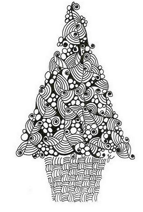 christmas tree coloring page for adults 21 christmas printable coloring pages everythingetsy com
