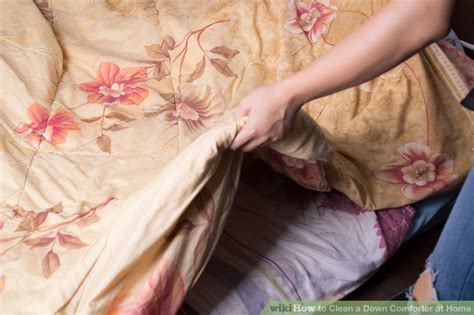 How Much To Clean A Comforter by How To Clean A Comforter At Home 12 Steps With Pictures