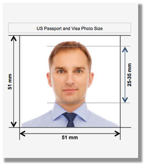 Photos And Fingerprints Guidelines For Us Visa Application Thevisablog Com Us Visa Photo Template