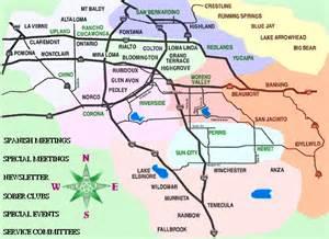 map of inland empire california inland empire california map quotes